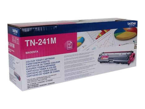 Brother TN241M - magenta - original - tonerpatron (TN241M)