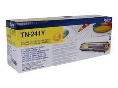 Brother TN-241Y - Gul - original - tonerpatron - for Brother DCP-9015, DCP-9020, HL-3140, HL-3150, HL-3170, MFC-9140, MFC-9330, MFC-9340