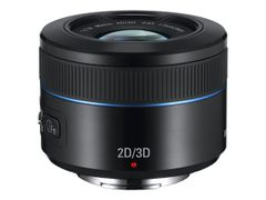 Samsung EX-S45ADB - Objektiv - 45 mm - f/1.8 2D/3D - Samsung NX - for SMART Camera NX300