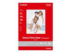 Canon GP-501 - Blank - 100 x 150 mm 100 ark fotopapir - for PIXMA iP5300, iP90, MG2555, mini260, MP180, MP490, MP510, MP550, MP560, MP960, MX330