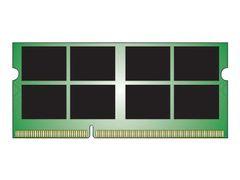 Kingston ValueRAM - DDR3L - 8 GB - SO DIMM 204-pin - 1600 MHz / PC3L-12800 - CL11 - 1.35 / 1.5 V - ikke-bufret - ikke-ECC