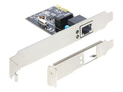 DELOCK PCI Express Card > 1 x Gigabit LAN - Nettverksadapter - PCIe - Gigabit Ethernet