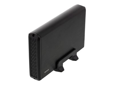 "Deltaco MAP-GD33U3 - Drevkabinett - 3.5"" - SATA 3Gb/s - 3 Gbit - USB 3.0 - svart (MAP-GD33U3)"