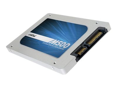"CRUCIAL M500 - Solid State Drive - kryptert - 240 GB - intern - 2.5"" - SATA 6Gb/s - TCG Opal Encryption 2.0 (CT240M500SSD1)"