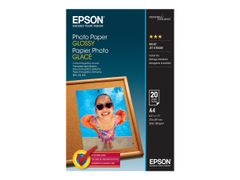 Epson Blank - A4 (210 x 297 mm) - 200 g/m² - 20 ark fotopapir - for EcoTank ET-1110, 2756; WorkForce ET-4700, WF-7725; WorkForce Pro WF-4745