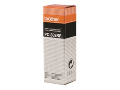 Brother PC302RF - 2 - skriverbånd - for Brother MFC-970; FAX-920, 921, 930, 945, 985; IntelliFAX 750, 770, 775, 870, 875, 885