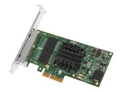 Intel Ethernet Server Adapter I350-T4 - Nettverksadapter - PCIe 2.1 x4 lav profil - 1000Base-T x 4