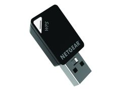 NETGEAR A6100 WiFi USB Mini Adapter - Nettverksadapter - USB - 802.11ac