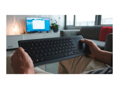 Logitech Illuminated Living Room K830 tastatur US