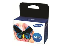 Samsung INK-M40 - 2-pack - svart - original - blekkpatron - for SF-330, 331P, 335, 335T, 340, 341P, 345T, 345TP, 360, 361P, 365TP