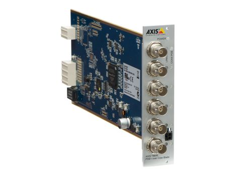 AXIS T8646 PoE+ over Coax Blade - Video server - 6 kanaler (5026-461)