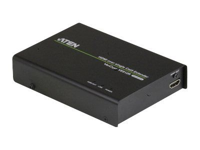 ATEN VE812R HDMI Over Single Cat 5 Receiver - video/ lyd-forlenger - HDMI (VE812R-AT-G)