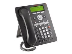 AVAYA one-X Deskphone Value Edition 1608-I - VoIP-telefon - H.323 - svart