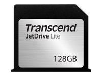Transcend JetDrive Lite 130 - Flashminnekort - 128 GB - for Apple MacBook Air (13.3 in)