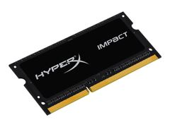 Kingston HyperX Impact Black Series - DDR3L - 4 GB - SO DIMM 204-pin - 1866 MHz / PC3L-14900 - CL11 - 1.35 / 1.5 V - ikke-bufret - ikke-ECC