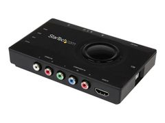 StarTech Standalone Video Capture & Streaming - HDMI / Component -1080p - Videofangstadapter - USB 2.0 - NTSC, PAL-M, PAL 60 - svart