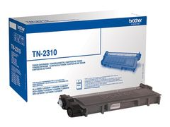 Brother TN-2310 - Svart - original - tonerpatron - for Brother DCP-L2500, L2520, L2560, HL-L2300, L2340, L2360, L2365, MFC-L2700, L2720, L2740