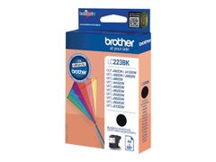 Brother LC223BK - Svart - original - blekkpatron - for Brother DCP-J4120,  J562, MFC-J4625,  J480, J680, J880; Business Smart MFC-J4420,  J4620