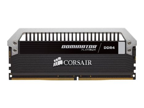 Corsair Dominator Platinum - DDR4 - 16 GB: 2 x 8 GB - DIMM 288-pin - ikke-bufret