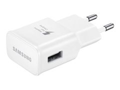 Samsung EP-TA20EWEU - Strømadapter - 2000 mA (USB) - hvit - for Galaxy Note 4