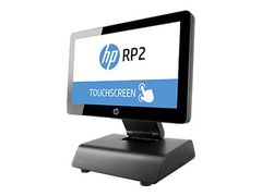 HP RP2 Retail System 2030 - Alt-i-ett - 1 x Pentium J2900 / 2.41 GHz - RAM 4 GB - SSD 64 GB - HD Graphics - GigE - FreeDOS 2.0 - monitor: LED 14