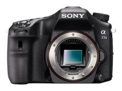 Sony a77 II ILCA-77M2M - Digitalkamera - SLR - 24.3 MP - APS-C - 7.5optisk x-zoom DT 18-135 mm-linse - Wi-Fi, NFC - svart