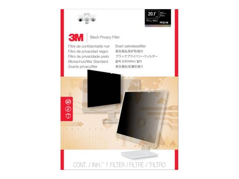 "3M personvernfilter for 20,1"" widescreen (16:10) - personvernfilter for skjerm - 20,1"" bredde (PF20.1W)"