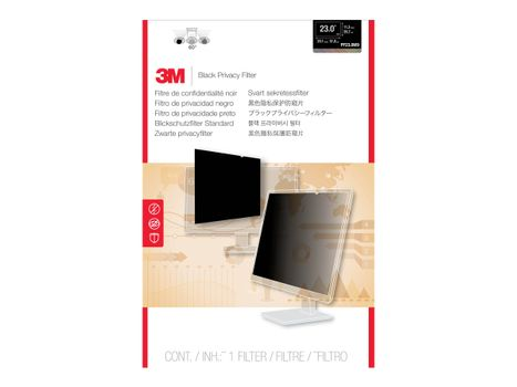 "3M personvernfilter for 23"" widescreen - personvernfilter for skjerm - 23"" bredde"