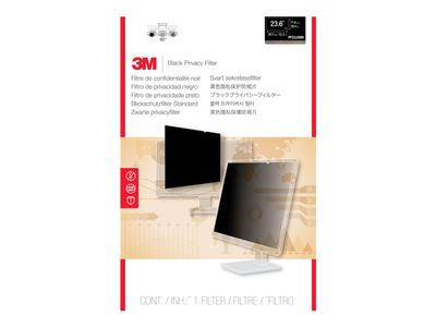 """3M personvernfilter for 23,6"""" widescreen - Personvernfilter for skjerm - 23,6"""" bred - svart (PF23.6W9)"""