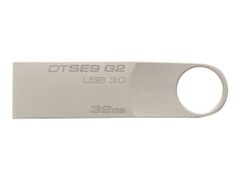 Kingston DataTraveler SE9 G2 - USB-flashstasjon - 32 GB - USB 3.0
