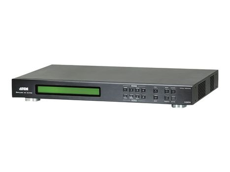 ATEN 4x4 HDMI Matrix Switch with Scaler VM5404H - video/ audio switch - Styrt - rackmonterbar (VM5404H-AT-G)