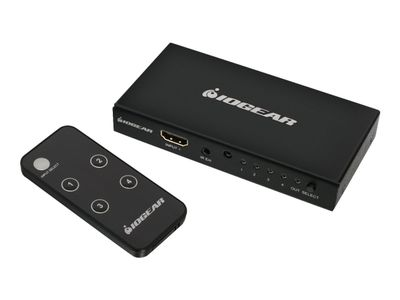 IOGEAR GHDSW4K4 - Video/ audio switch - 4 x HDMI (GHDSW4K4)