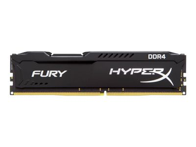 Kingston HyperX FURY - DDR4 - 16 GB: 4 x 4 GB - DIMM 288-pin - 2133 MHz / PC4-17000 - CL14 - 1.2 V - ikke-bufret - ikke-ECC - svart (HX421C14FBK4/16)