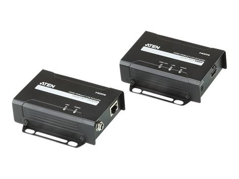ATEN VanCryst VE801 HDMI HDBaseT-Lite Extender, Transmitter and Receiver - video/ lyd-forlenger - HDBaseT (VE801-AT-G)