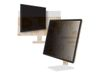 "3M personvernfilter med ramme for 24"" widescreen - personvernfilter for skjerm - 23"" - 24"" bredde (98044060618)"