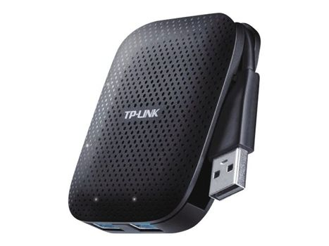 TP-Link UH400 - Hub - 4 x SuperSpeed USB 3.0 - stasjonær (UH400)