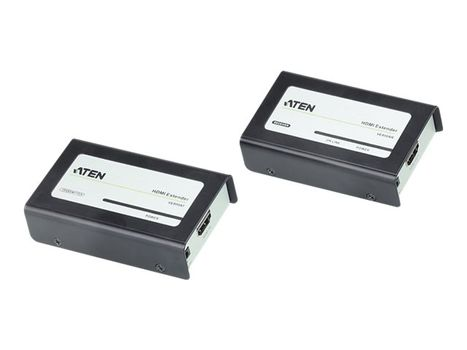 ATEN VanCryst VE800A Cat 5e Audio/ Video Extender Transmitter and Receiver Units - video/ lyd-forlenger - HDMI (VE800A-AT-G)