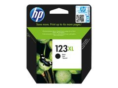 HP 123XL - Svart - original - blekkpatron - for Deskjet 2130, 26XX, 3630, 37XX; Envy 4523, 50XX; Officejet 3835, 4655, 52XX