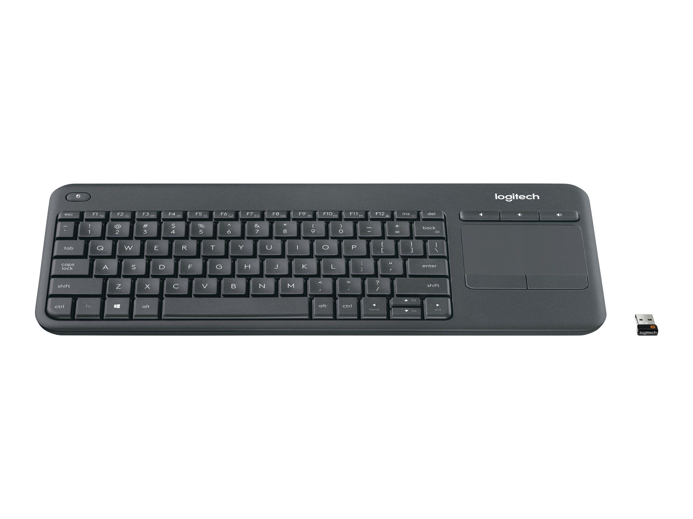 Logitech K400 tastatur med styreplate Engelsk | Multicom