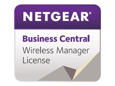 NETGEAR Business Central Wireless Manager - Abonnementslisens (1 år) - 50 adgangspunkter - med vert (WM50AP1YL-10000S)
