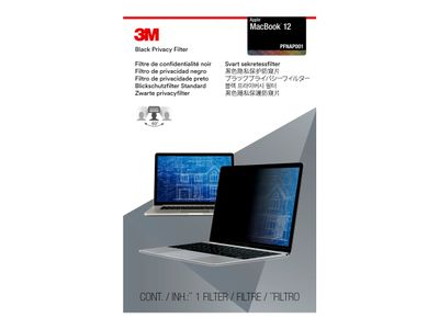 "3M personvernfilter for 12"" Apple MacBook with COMPLY Attachment System notebookpersonvernsfilter (PFNAP001)"