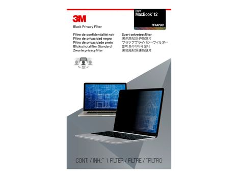 "3M personvernfilter for MacBook 12"" Laptops 16:10 with COMPLY notebookpersonvernsfilter (PFNAP001)"