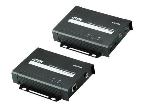 ATEN VE802 HDMI HDBaseT-Lite Extender, Transmitter and Receiver - video/ lyd/ infrarød/ seriell-utvider - HDMI, HDBaseT (VE802-AT-G)
