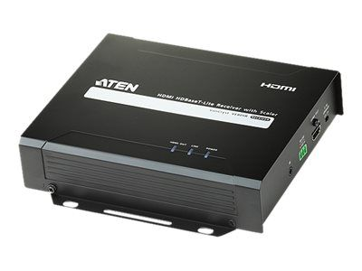 ATEN VE805R HDMI HDBaseT-Lite Receiver with Scaler - video/ lyd/ infrarød/ seriell-utvider - HDMI, HDBaseT (VE805R-AT-G)