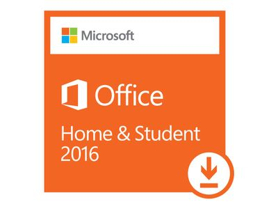 Microsoft Office Home and Student 2016 - lisens - 1 PC (79G-04294)