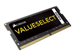 Corsair Value Select - DDR4 - 4 GB - SO DIMM 260-pin - 2133 MHz / PC4-17000 - CL15 - 1.2 V - ikke-bufret - ikke-ECC