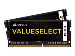 Corsair Value Select - DDR4 - 16 GB: 2 x 8 GB - SO DIMM 260-pin - 2133 MHz / PC4-17000 - CL15 - 1.2 V - ikke-bufret - ikke-ECC