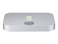 Apple iPhone Lightning Dock - Dokkestasjon - romgrå - for iPhone 5, 5c, 5s, 6, 6 Plus, 6s, 6s Plus, SE; iPod touch (5G, 6G)