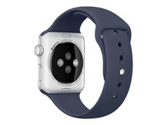 Apple 42mm Sport Band - Klokkestropp - midnattsblå - for Watch (42 mm)
