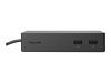 Microsoft Surface Dock - Dokkingstasjon - 2 x Mini DP - GigE - kommersiell - for Surface Book 2, Book with Performance Base, Laptop, Pro 4 (PF3-00009)